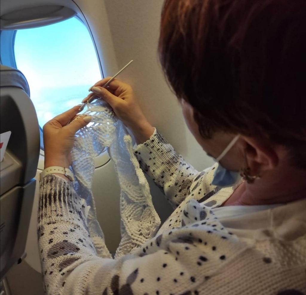 Вязание в самолете: как пронести спицы с собой на борт