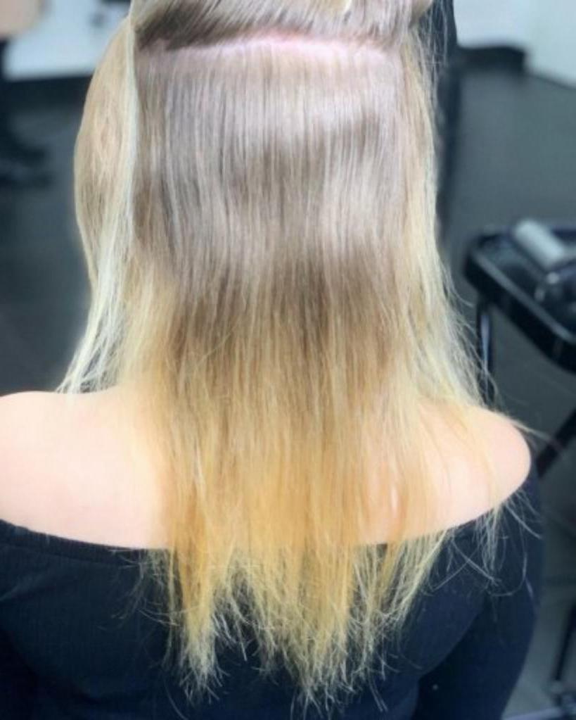 Поврежденные волосы остались в прошлом: длинный боб и медовый блонд преобразили девушку