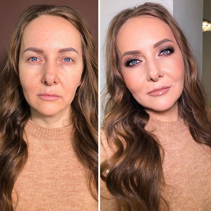 Визажист Мария Калашникова преображает женщин до неузнаваемости: фото до и после ее работы