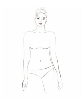 Есть 9 типов женской груди. Какая у вас?