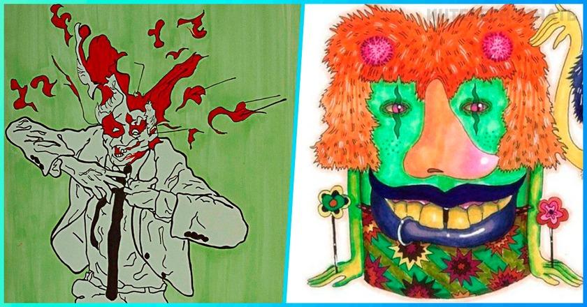 10 психоделических произведений искусства, после которых вы не будете прежним