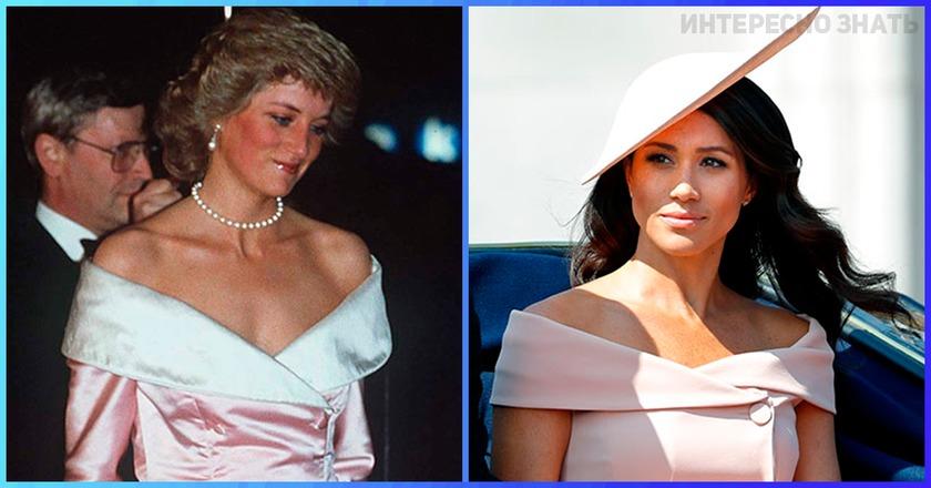 Совпадения — не думаем! 10 раз, когда Меган Маркл копировала наряды леди Ди