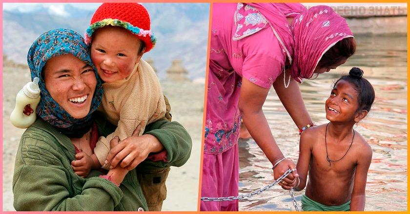 Такая разная, но одна и та же: Вот как выглядит материнская любовь в разных странах