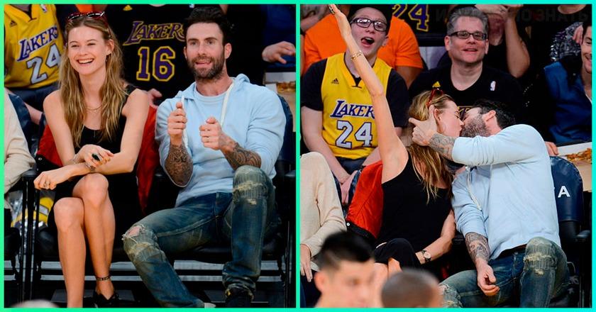 Знаменитые пары на баскетбольных матчах