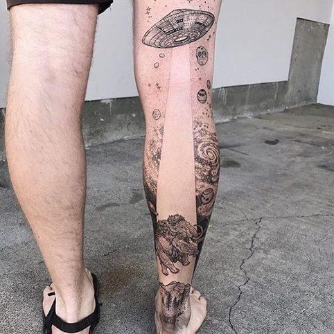 15 необычных татуировок, о которых можно начать мечтать уже сейчас