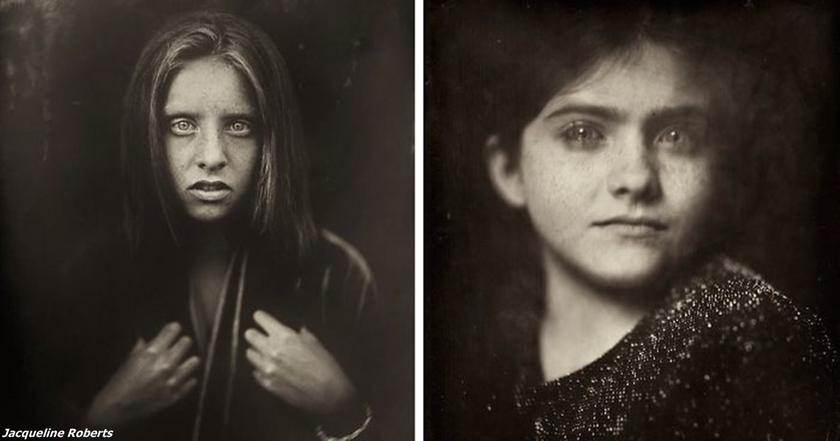 Я нашла камеру, которой 166 лет, и стала фоткать на нее детей. Вот результат!