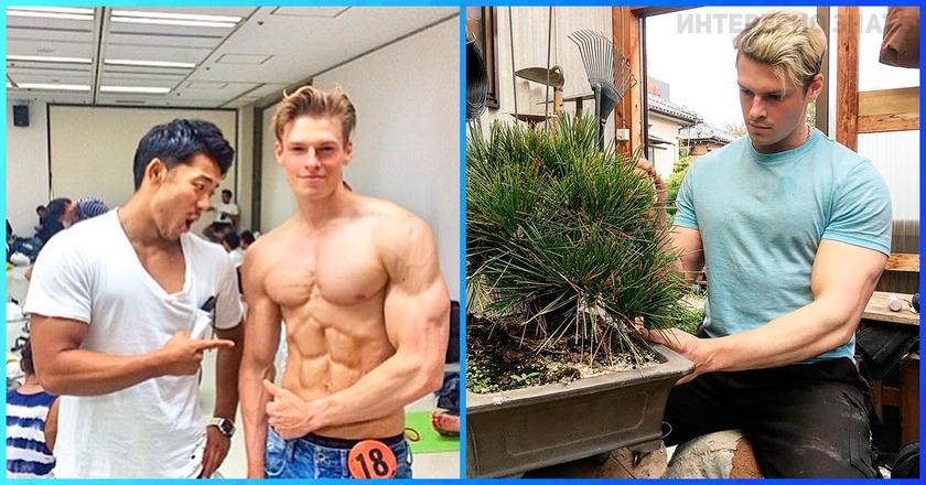 Новый любимчик из Японии. Сложно поверить, но этот парень садовник!
