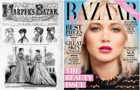 Как выглядели обложки известных журналов во время первого выпуска и сейчас