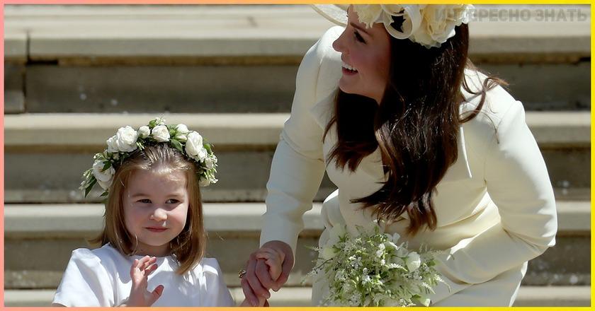 6 строгих правил 3 летеней принцессы . Вот что она обязана делать Шарлотта Кембриджская