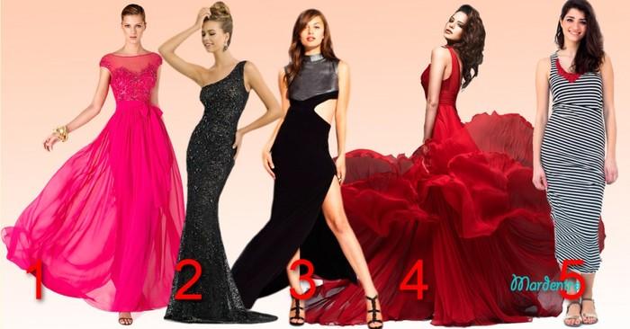 Удивительный тест! Выберете платье и узнаете о себе нечто необычное!
