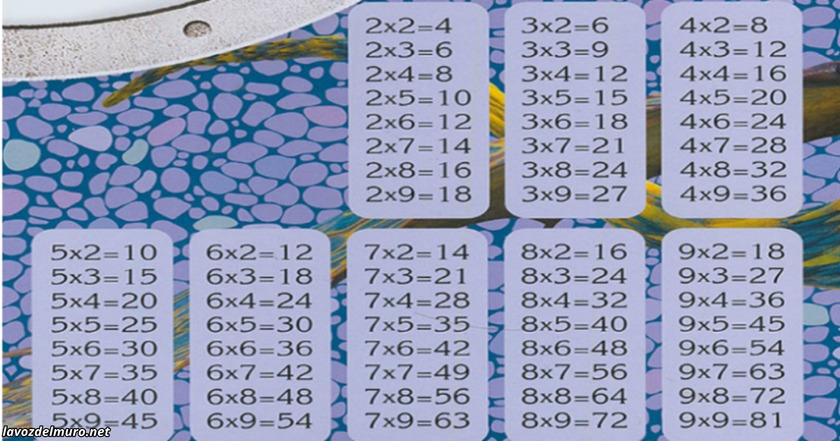 Вот как за 1 раз научить детей таблице умножения!