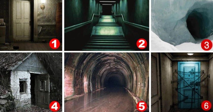 Какой вход пугает вас больше всего? Уникальный тест на подсознание