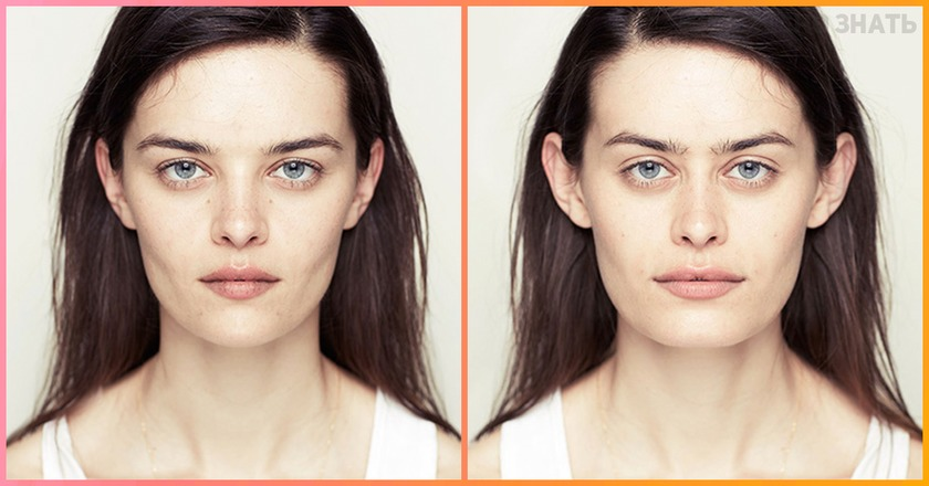 Вот как бы выглядело ваше лицо, будь у вас две «рабочие стороны»