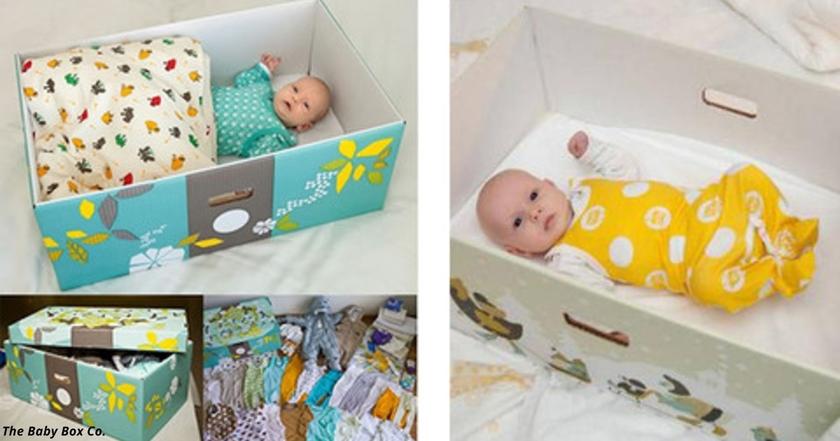 Все дети в Финляндии спят в картонных коробках. Вот почему