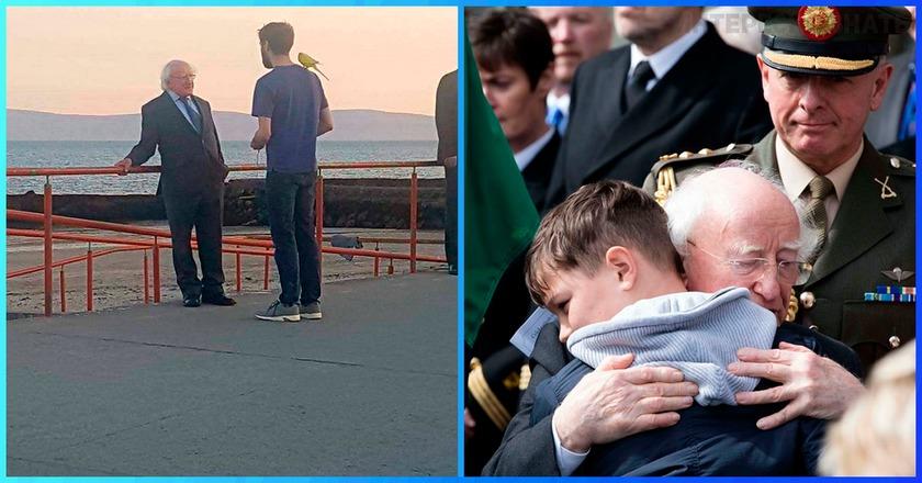 Президент Ирландии ведет себя как простой человек — и за это его любят все!