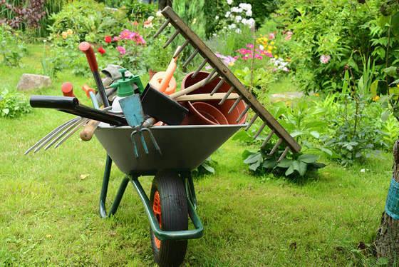 Идеи для хранения садового инвентаря и инструментов